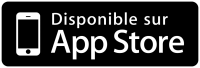 Application disponible sur Apple Store